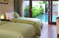 double bed di aston pradha  villas seminyak